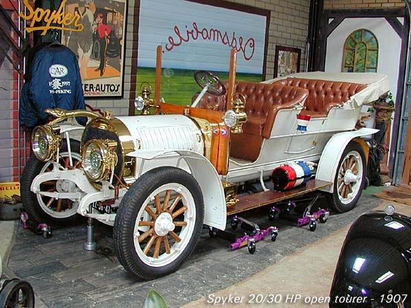 1907 Spijker 20-30 HP Open Tourer