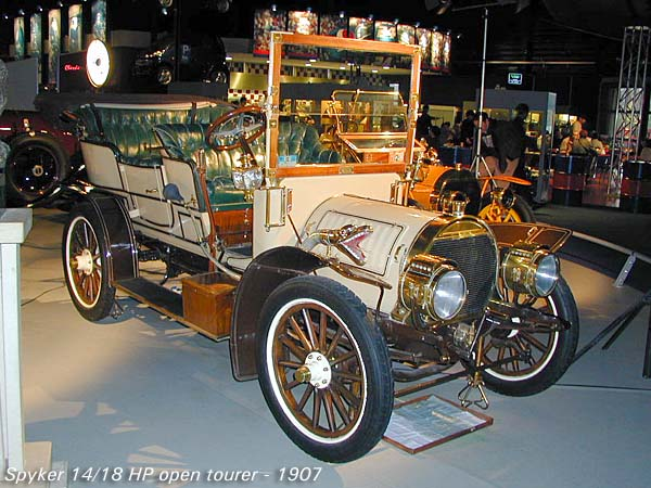 1907 Spyker 14-18 HP a