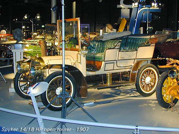 1907 Spyker 14-18 HP b