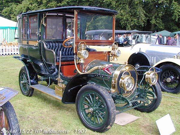 1907 Spyker 15-22 HP Landaulette a