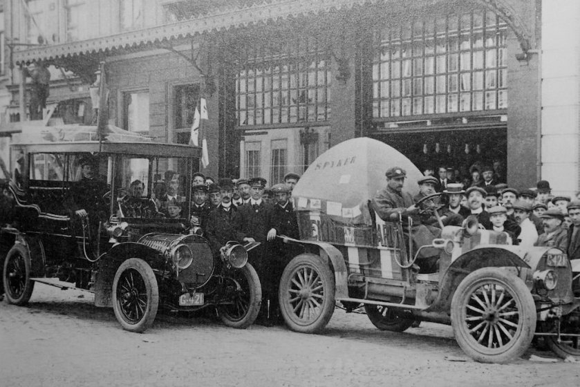 1907 spyker car peking-paris i