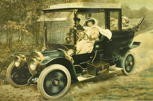 1910 Spyker cars ad