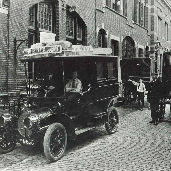 1910 Spyker van het nieuwsblad v h Noorden