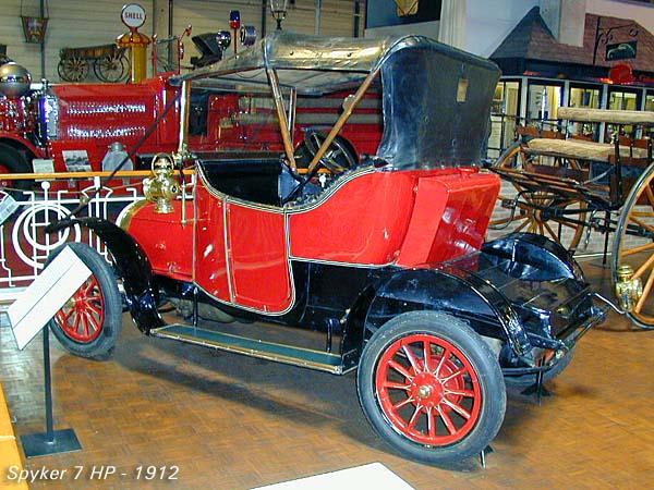 1912 Spijker 7 HP a