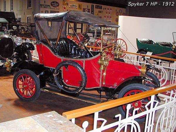 1912 Spijker 7 HP