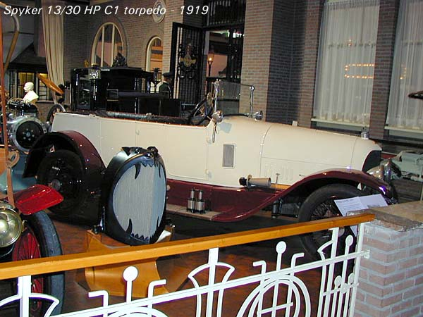 1919 Spijker 13-30 HP C1 Torpedo a