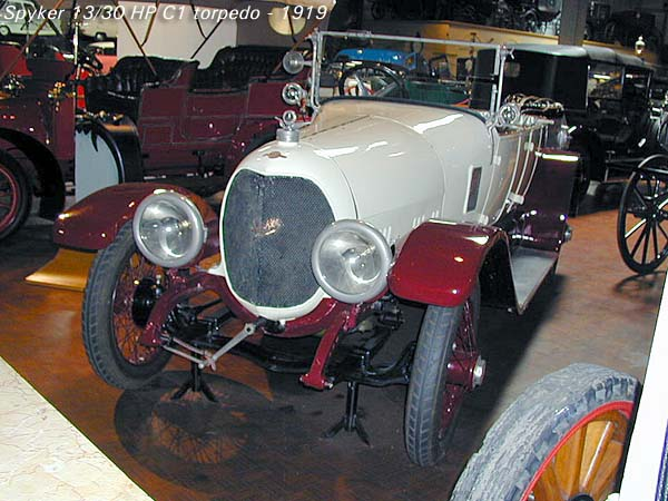 1919 Spyker 13-30 HP C1