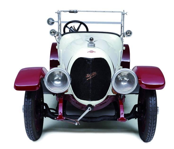 1919 Spyker Torpedo Touring!