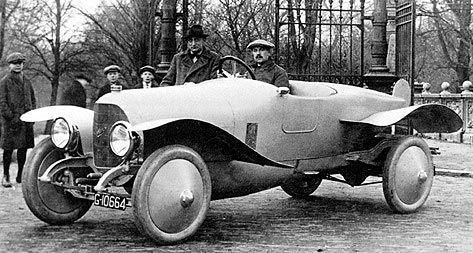 1919 Spyker Type13 30pk