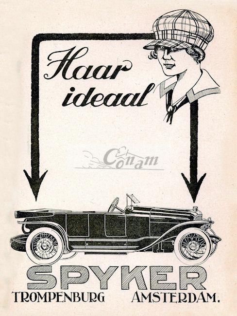 1920 Spijker-Auto-4mrt ad