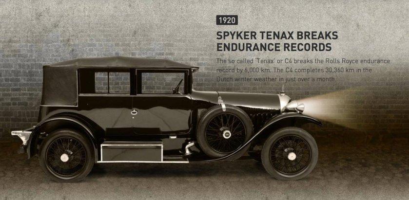 1920 Spyker Tenax (or C4)