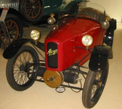 1921 Alcyon with twocylinder boxermotor tricycle