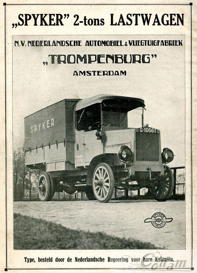 1921 Spijker-Auto-1sept-ad