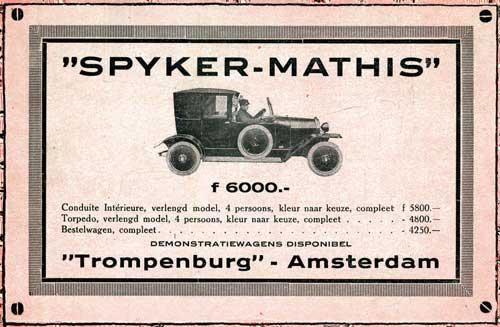 1921 spyker-mathis-trompenb