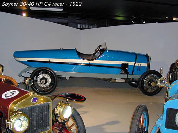 1922 Spyker 30-40 HP C4 racer