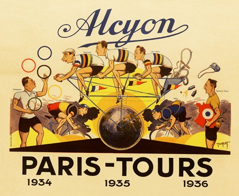 1924 Alcyon Tour de france