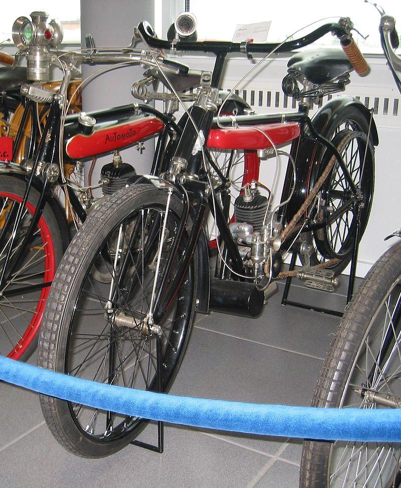 1925 Alcyon Motorrad