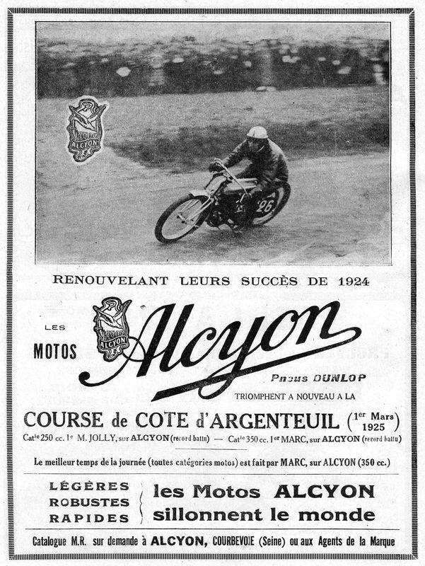 1925 Alcyon