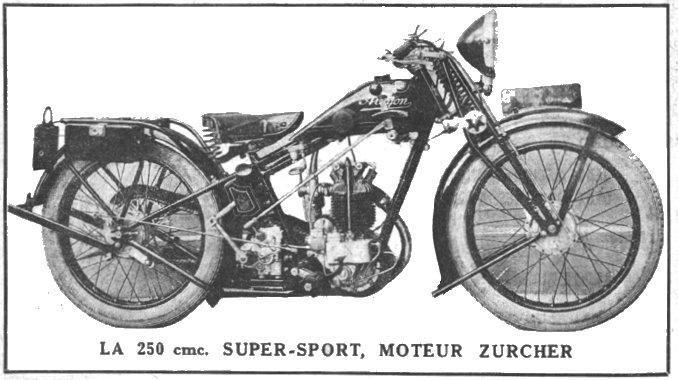 1929 Alcyon de 250cc