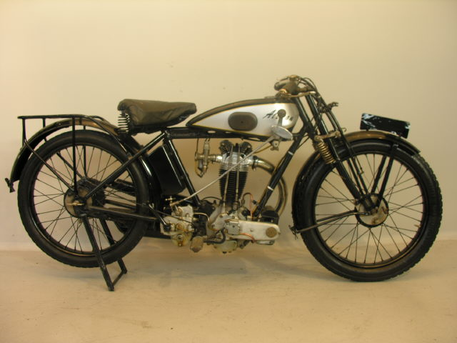 1929 Alcyon with 350 cc Zücher-motor