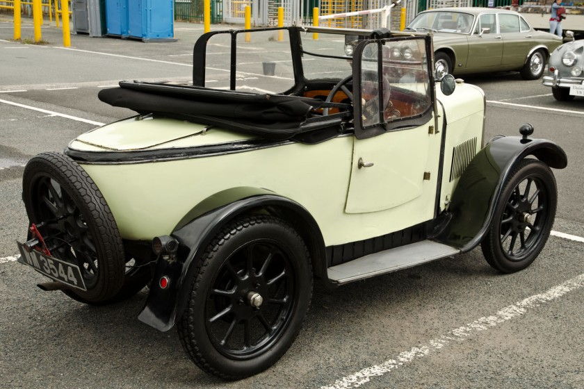 Triumph Super 7 Two Seat Tourer (1929 )