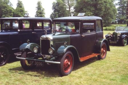 1930 Triumpf Fifteen Fabric Saloon b