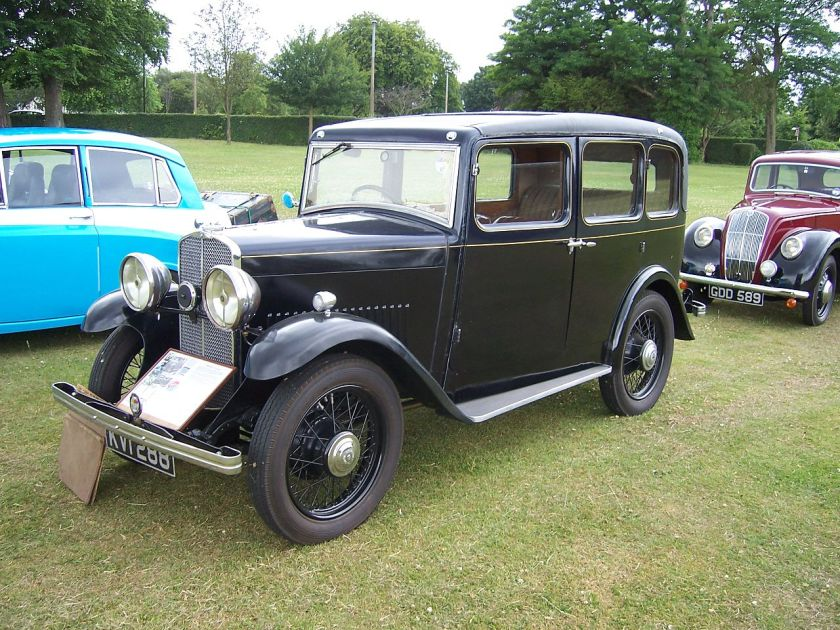 1931 Triumph Super 9 - 6 Light coachbuilt saloon prototype, built 1931