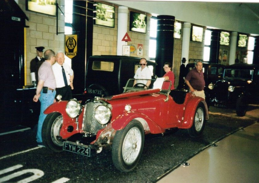 1934 Triumph Dolomite Straight Eight2 2000cc
