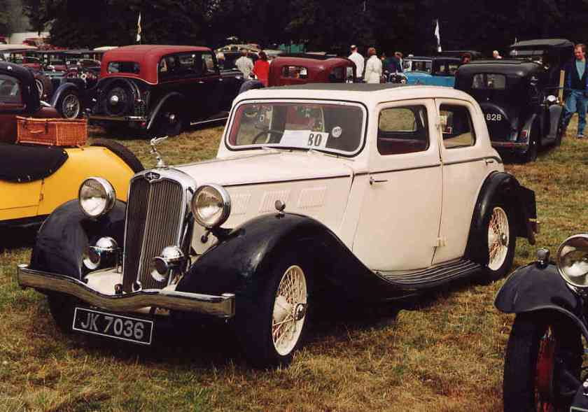 1934 Triumph Gloria Six
