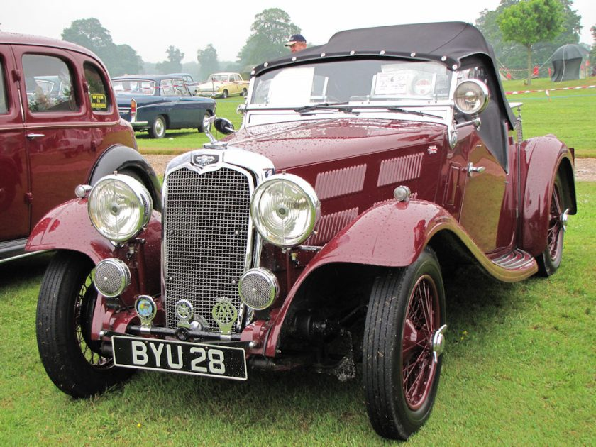 1935 Triumph Gloria Southern Cross 10.8 HP 1,232 cc