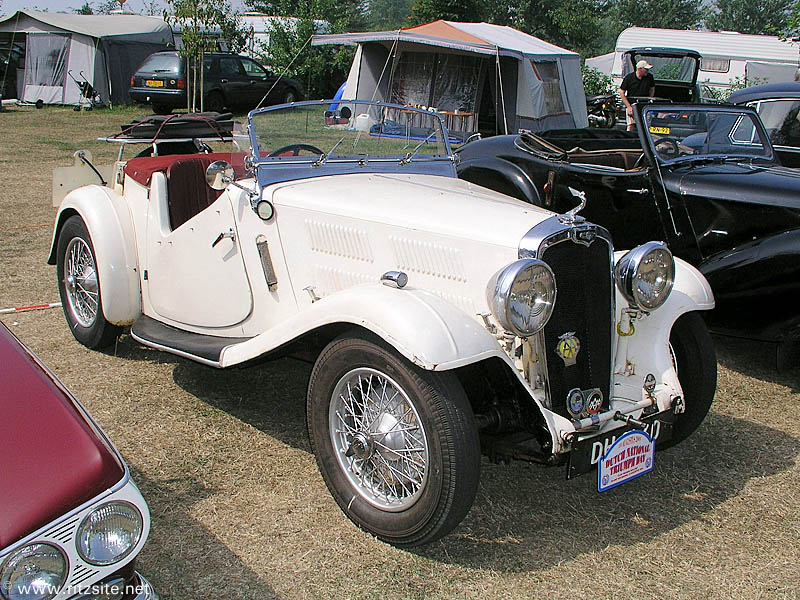 1936 Triumph Gloria Southern Cross - 2-seater roadster body