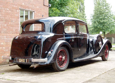1937 Autovia Special Saloon