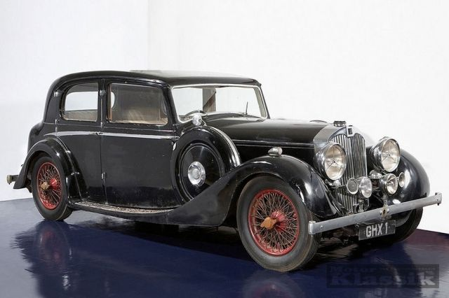 1937 Autovia Sport Saloon by Mulliner - 1 of 1 Ever Built