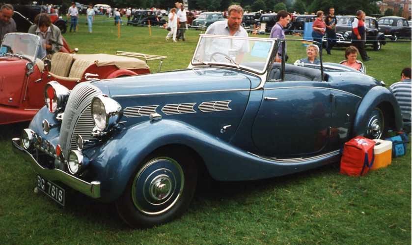 1937 Triumph Dolomite Roadster