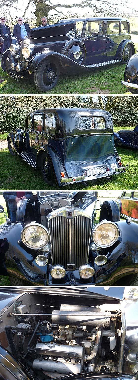 1938 Autovia V8 Mulliner Limousine