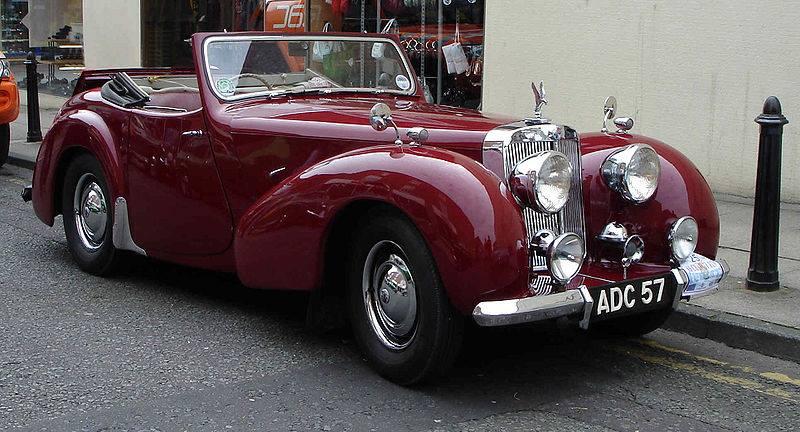 1948 Triumph 1800 Roadster