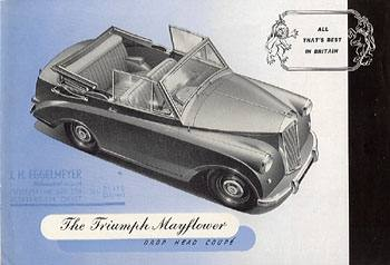 1952 Triumph Mayflower Drop-Head Coupé