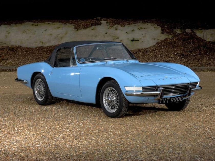 1964 Triumph Fury Prototype by Michelotti