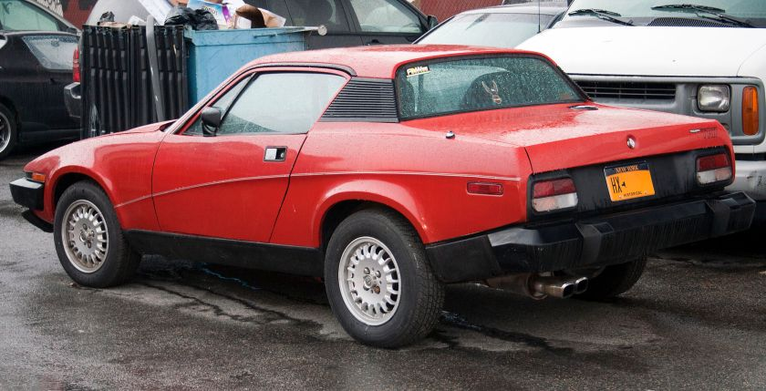 1977 Triumph TR7 in the Bronx USA