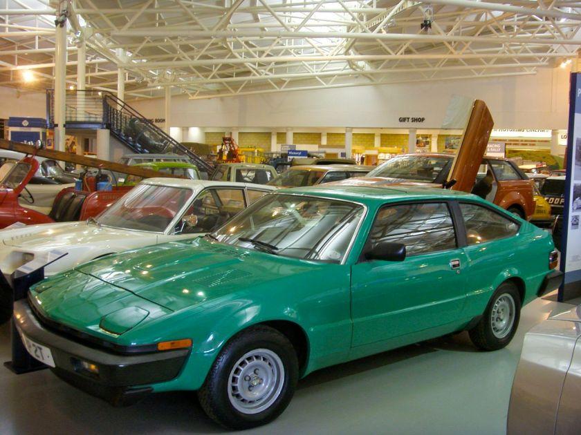 1978 Triumph TR7 (Project Lynx) Heritage Motor Centre, Gaydon