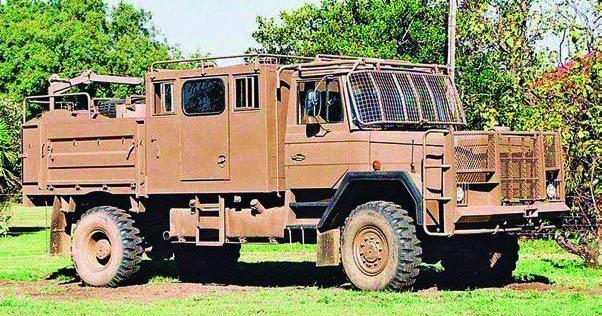 1979 SAMIL-50 Mk-I, 4x4