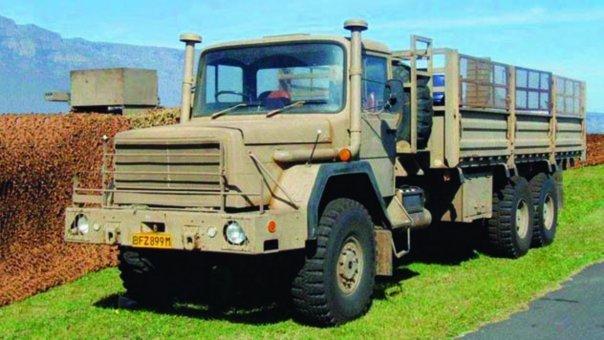 1983 SAMIL-100 Truckmaster, 6x6