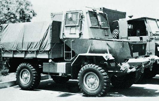 1983 SAMIL-20 Mk-I Bulldog, 4x4