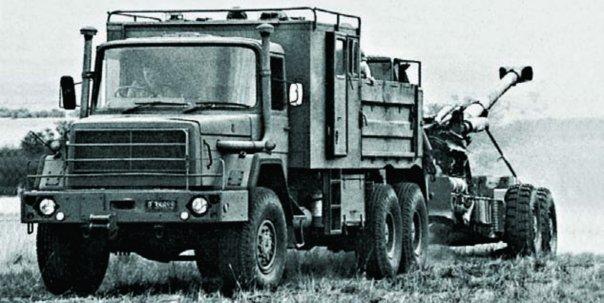 1985 SAMIL-100 artillery tractor, 6x6