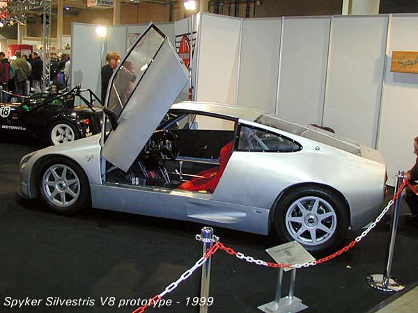 1999 Spyker Silvestris V8 prototype a
