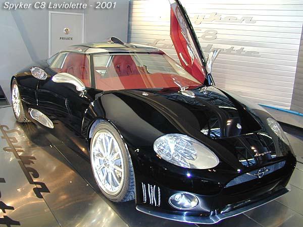 2001 Spyker C8 Laviolette coupe a