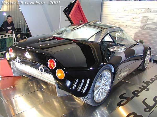 2001 Spyker C8 Laviolette coupe b