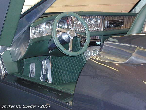 2001 Spyker C8 spyder b