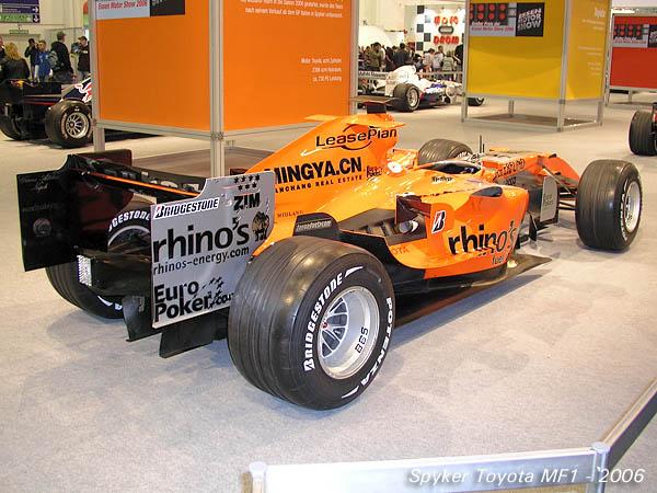 2006 Spyker Toyota MF1 a