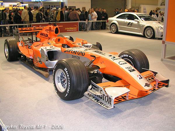 2006 Spyker Toyota MF1